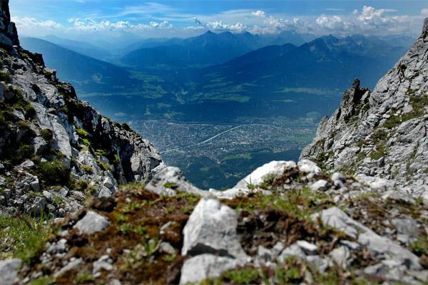 Mountain view of Innsbruck, venue for #EUPRIO14