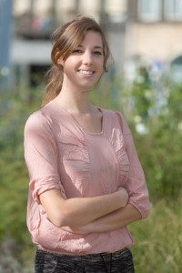 Noemie Mermet, a French PhD student