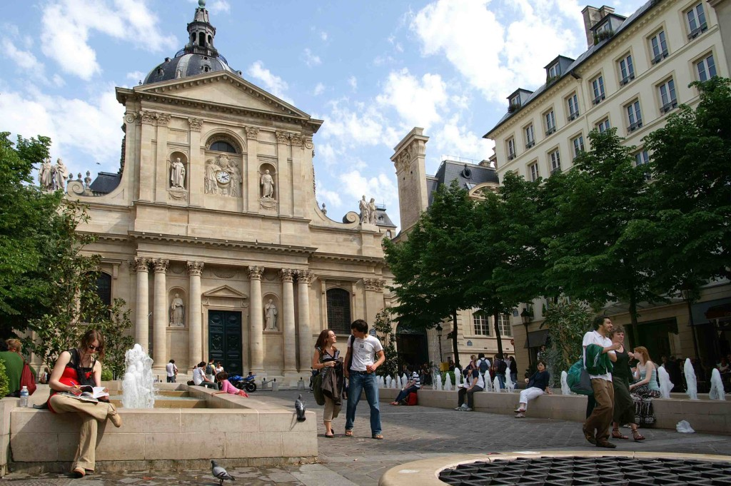 Place été, Paris-Sorbonne University