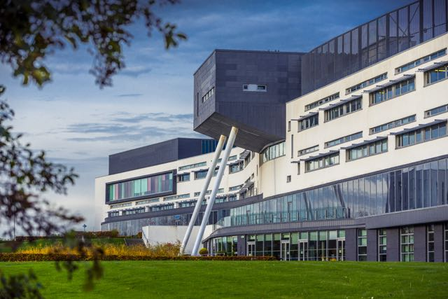 Queen Margaret University's new building