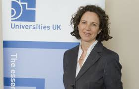 Nicola Dandridge, chief executive of Universities UK