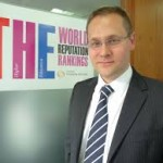 Phil Baty of Times Higher Education