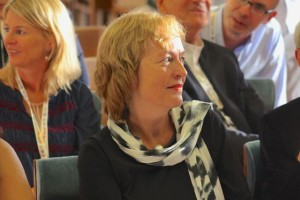 Petra Wend in audience of EUPRIO's 2015 conference